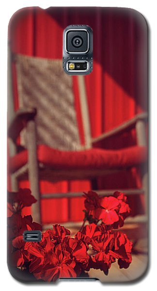 Galaxy S5 Case featuring the photograph Rockin' Red by Jessica Brawley