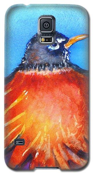 Rockin Robin Galaxy S5 Case by Patricia Piffath