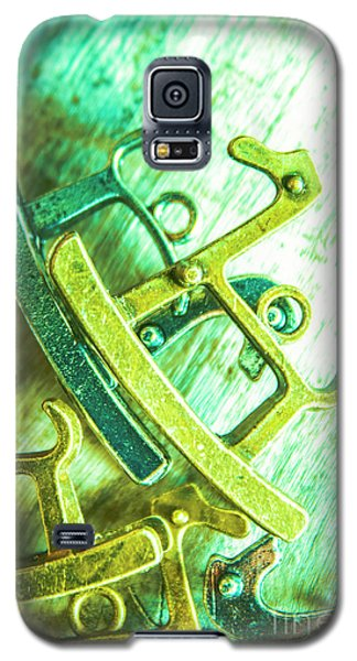 White Horse Galaxy S5 Case - Rocking Horse Metal Toy by Jorgo Photography - Wall Art Gallery