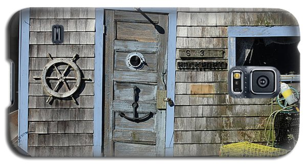 Rockport Fishing Shack Galaxy S5 Case by Lou Ford