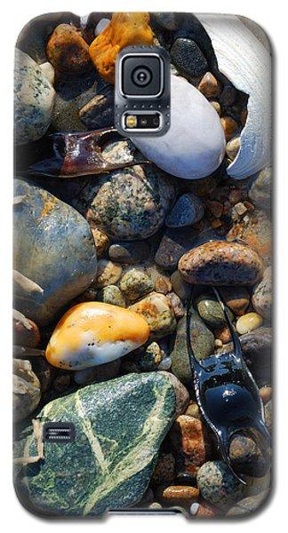 Rocks And Shells On Sandy Neck Beach Galaxy S5 Case