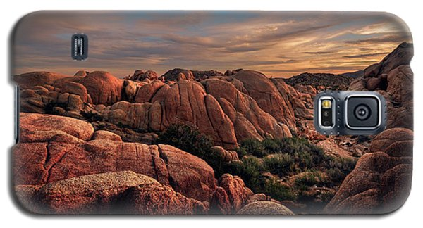 Rocks At Sunrise Galaxy S5 Case