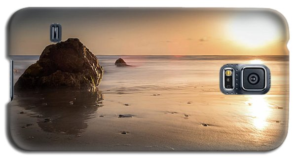 Rocks At Sunset 3 Galaxy S5 Case