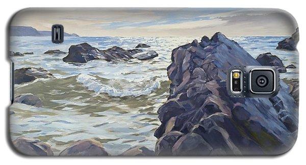 Rocks At Widemouth Bay, Cornwall Galaxy S5 Case