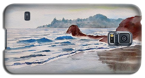 Rocky Beach Galaxy S5 Case by Geni Gorani