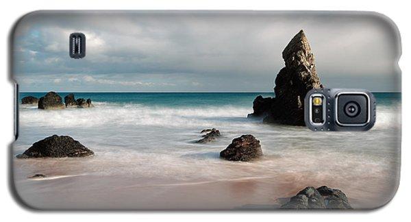 Rocky Beach On Sango Bay Galaxy S5 Case