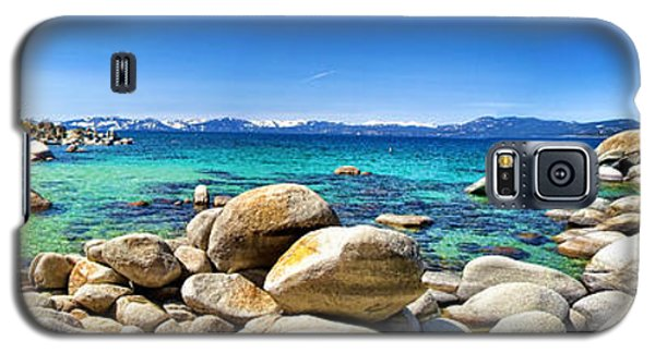 Rocky Cove Sand Harbor Galaxy S5 Case