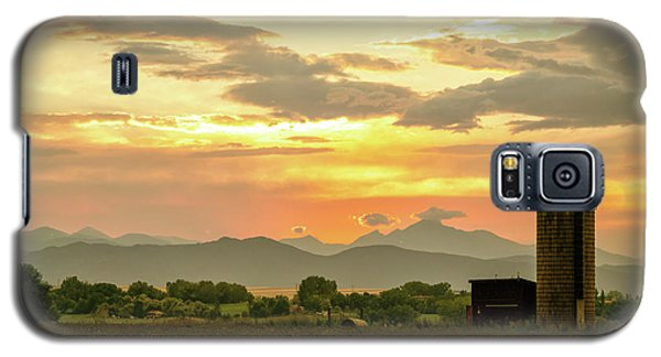 Galaxy S5 Case featuring the photograph Rocky Mountain Front Range Country Landscape by James BO Insogna