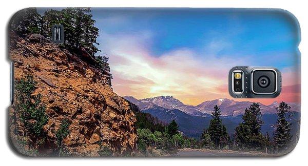 Rocky Mountain High Road Galaxy S5 Case