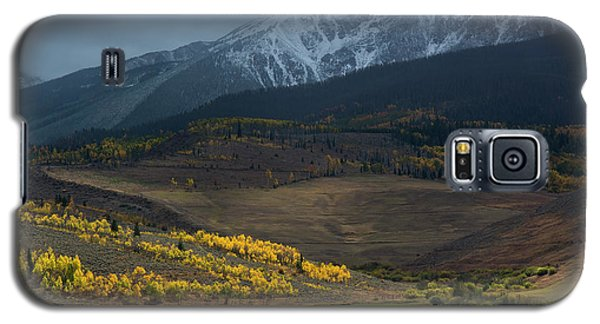 Galaxy S5 Case featuring the photograph Rocky Mountain Horses by Aaron Spong