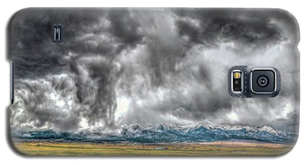 Rocky Mountain Panorama Hdr Galaxy S5 Case