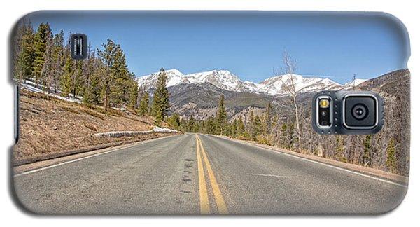 Rocky Mountain Road Heading Towards Estes Park, Co Galaxy S5 Case