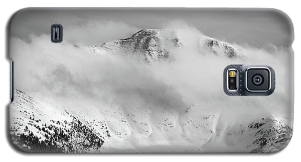 Rocky Mountain Snowy Peak Galaxy S5 Case