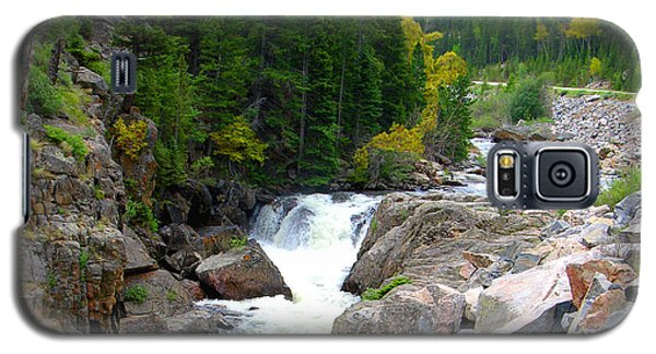 Rocky Mountain Stream Galaxy S5 Case by John Lautermilch