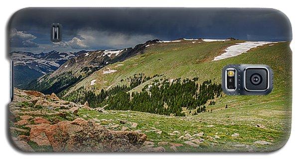 Rocky Mountain Strorm Galaxy S5 Case by Mary Angelini