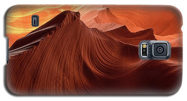 Rocky Mountain Sunrise Galaxy S5 Case