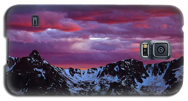 Rocky Mountain Sunset Galaxy S5 Case