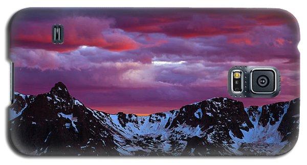 Rocky Mountain Sunset Galaxy S5 Case