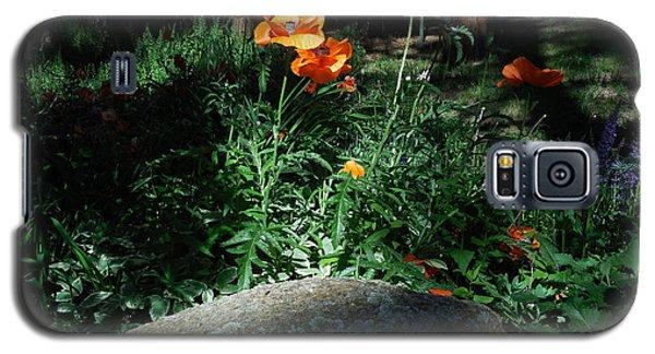 Rocky Mt. Poppies  Galaxy S5 Case