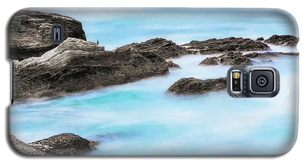 Galaxy S5 Case featuring the photograph Rocky Ocean by John A Rodriguez