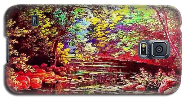 Rocky Rainbow River Galaxy S5 Case