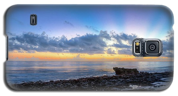 Galaxy S5 Case featuring the photograph Rocky Reef At Low Tide by Debra and Dave Vanderlaan