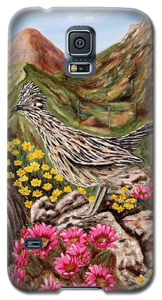 Rocky Road Runner Galaxy S5 Case by Judy Filarecki