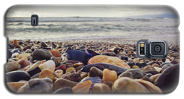 Galaxy S5 Case featuring the photograph Rocky Shore by April Reppucci