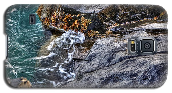 Galaxy S5 Case featuring the photograph Rocky Shores by Adrian LaRoque