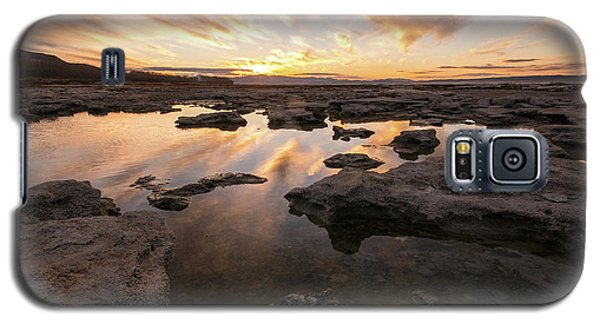 Rocky Shores Of Utah Lake Galaxy S5 Case