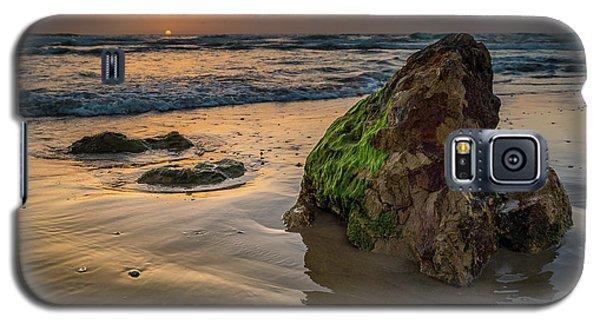 Rocky Sunset Galaxy S5 Case