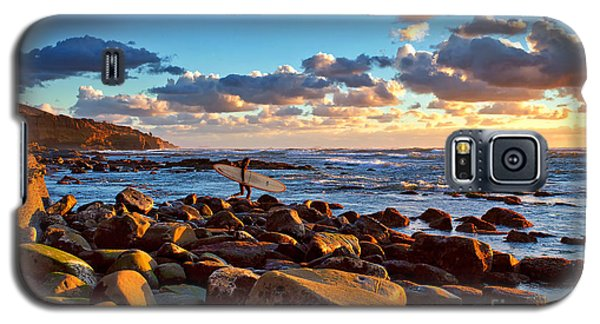 Rocky Surf Conditions Galaxy S5 Case