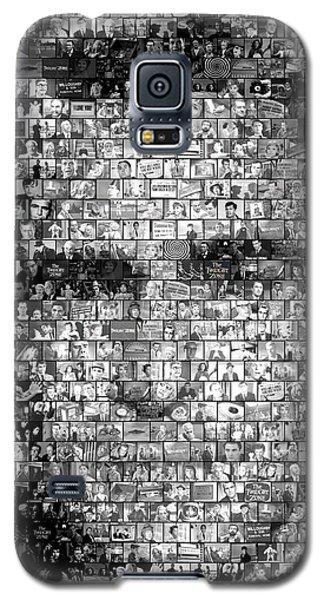 Rod Serling Twilight Zone Mosaic Galaxy S5 Case
