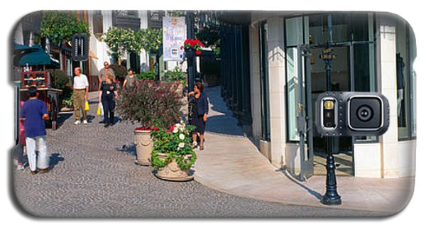 Rodeo Drive, Beverly Hills, California Galaxy S5 Case by Panoramic Images