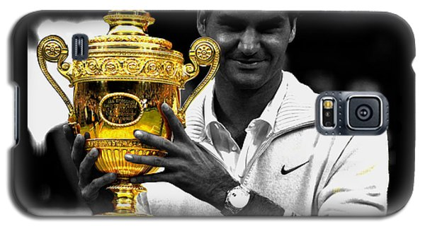 Roger Federer 2a Galaxy S5 Case