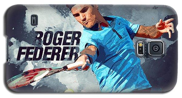 Roger Federer Galaxy S5 Case