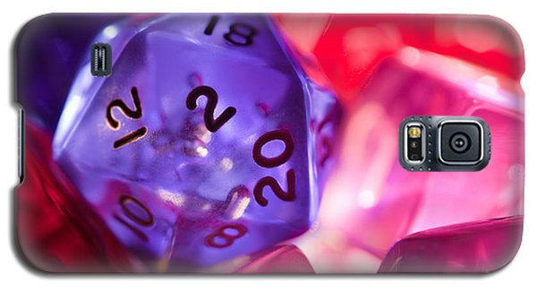 Role-playing D20 Dice Galaxy S5 Case by Marc Garrido