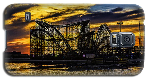 Roller Coaster Sunset Galaxy S5 Case