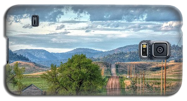 Rollercoaster Country Road Galaxy S5 Case