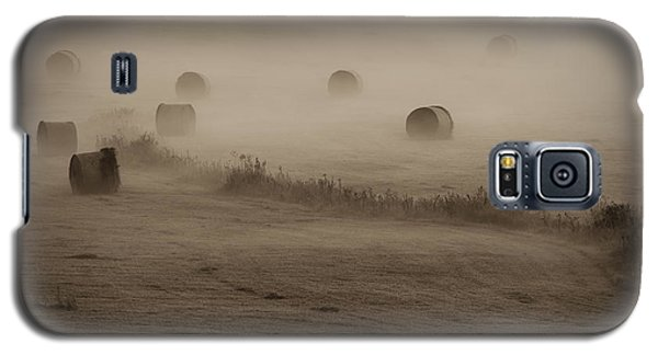 Rolling Field Of Hay Bales Galaxy S5 Case