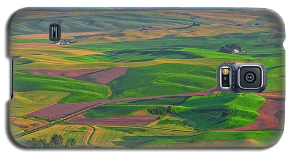 Rolling Green Hills Of The Palouse Galaxy S5 Case by James Hammond