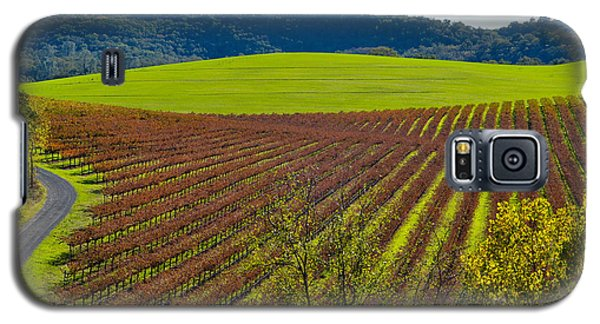 Rolling Hills And Vineyards Galaxy S5 Case