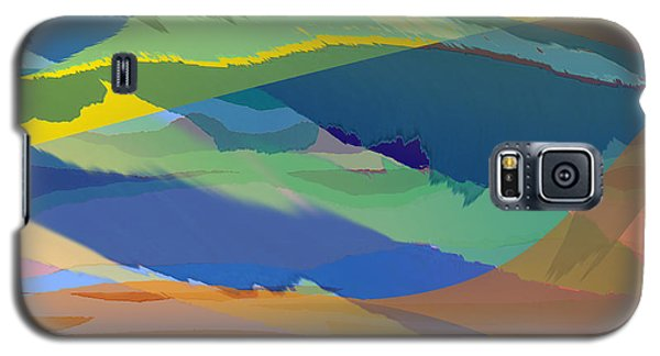 Rolling Hills Landscape Galaxy S5 Case