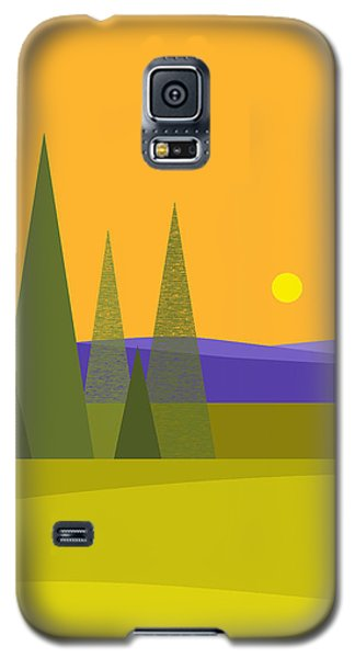 Rolling Hills - Vertical Galaxy S5 Case