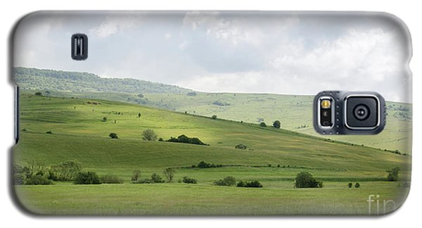 Rolling Landscape, Romania Galaxy S5 Case