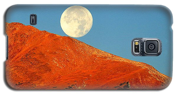 Rolling Moon Galaxy S5 Case by Karen Shackles