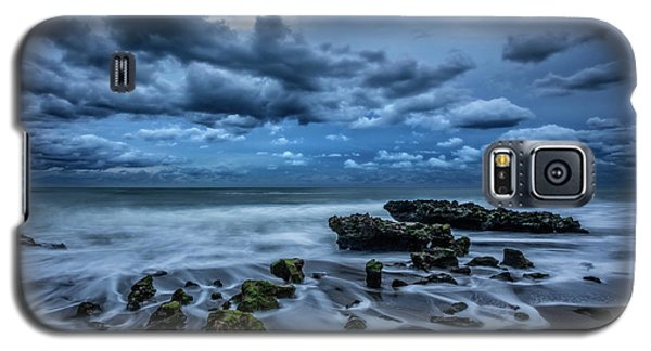 Galaxy S5 Case featuring the photograph Rolling Thunder by Debra and Dave Vanderlaan