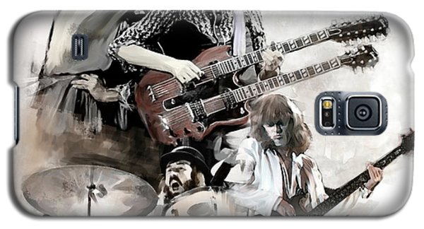 Rolling Thunder Led Zeppelin Galaxy S5 Case by Iconic Images Art Gallery David Pucciarelli