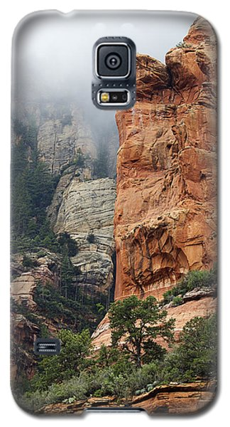 Galaxy S5 Case featuring the photograph Rollings Mists by Phyllis Denton