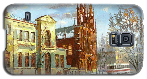 Roman Catholic Church Galaxy S5 Case by Dmitry Spiros